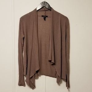Forever 21 size small tan cardigan